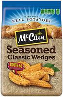 McCain® Route 66 Seasoned Classic Potato Wedges 26 oz. Bag