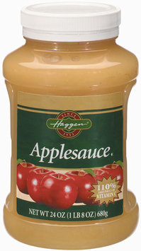 Haggen  Applesauce 24 Oz Plastic Jar