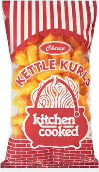 Kitchen Cooked Cheese Kettle Kurls $1.19 Prepriced 4 oz. Bag