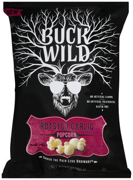Buck Wild™ Roasted Garlic Popcorn 4.4 oz. Bag
