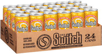 The Switch® Tropical Pineapple Sparkling Juice 8 fl. oz. Can