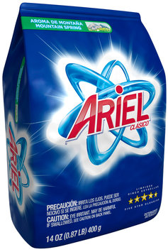 Ariel® Mountain Spring Laundry Detergent 14 oz. Bag