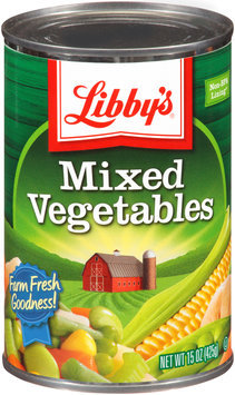 Libby's® Mixed Vegetables 15 oz. Can
