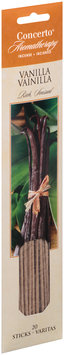 Concerto® Aromatherapy Vanilla Incense Sticks 20 ct. Carded Pack