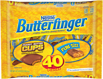 BUTTERFINGER Halloween Assortment 30 oz Bag