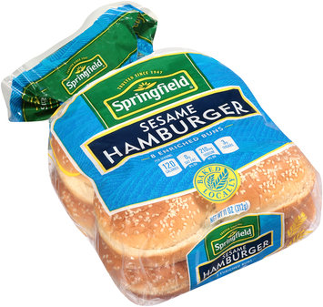 Springfield® Enriched Sesame Hamburger Buns 8 ct Pack