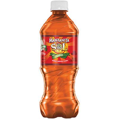 Manzanita Sol® Apple Soda 20 fl. oz. Plastic Bottle