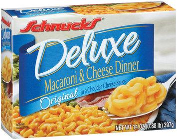 Schnucks Deluxe Original Macaroni & Cheese Dinner 14 Oz Box