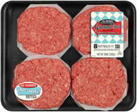 80/20 Ground Beef Patties 1.5 lb. Tray