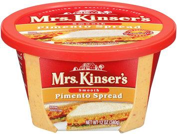 Mrs. Minsert's Smooth Pimento Spread 12 oz Tub