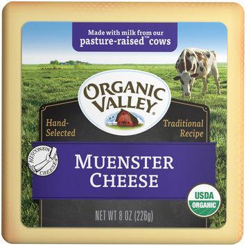 Organic Valley® Muenster Cheese 8 oz. Brick