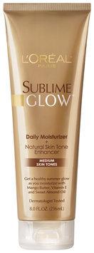 Sublime Glow Plus Natural Skin Tone Enhancer For Medium Skin Tones Moisturizer 8 Fl Oz Tube