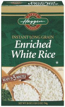 Haggen Instant Long Grain Enriched White Rice 28 Oz Box