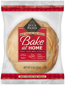 Ecce Panis® Bake at Home Neo-Tuscan Bread 8 oz. Loaf