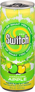The Switch® Hardcore Apple Sparkling 100% Juice 8 fl. oz. Pull-Top Can