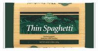 Haggen Thin Spaghetti Pasta 48 Oz Bag