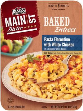 Reser's Fine Foods® Main St Bistro® Pasta Florentine with White Chicken 20 oz Tray