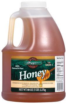 Haggen 100% Natural & Pure Honey 80 Oz Jug