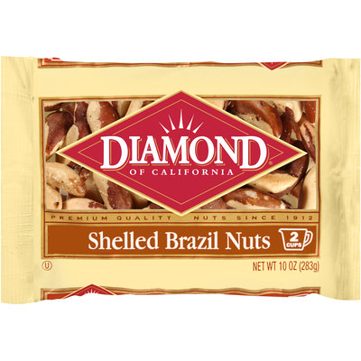 Diamond of California® Shelled Brazil Nuts 10 oz. Bag
