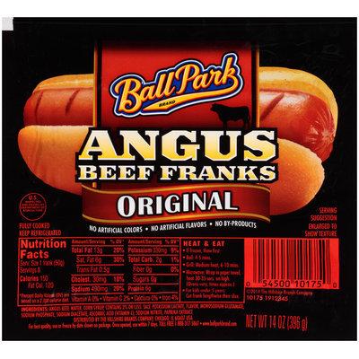 Ball Park Angus Beef Original Franks 14 oz. Pack