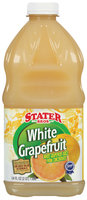 Stater Bros. White Grapefuit Juice Drink 64 Fl Oz Plastic Bottle