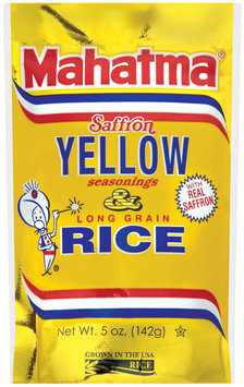 Mahatma® Saffron Yellow Seasonings & Long Grain Rice 5 oz.