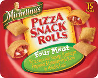 Michelina's Snack Rolls  Four Meat 15 Ct Box