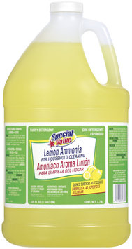 Special Value Lemon Ammonia 128 Oz Jug