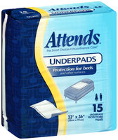 UFS236RG Attends® Retail Underpads 23 in. x 36 in., Printed Bags, 15 count