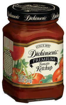 Dickinson's Premium Tomato Ketchup 8.5 Oz Glass Bottle