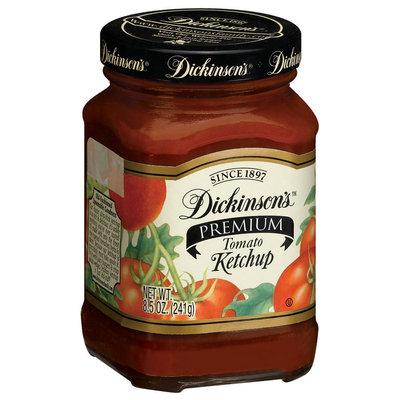 Dickinson's Premium Tomato Ketchup 8.5 Oz Glass Bottle
