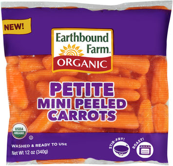 Earthbound Farms® Organic Petite Mini Peeled Carrots 12 oz. Bag