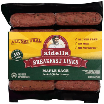 Aidells® Maple Sage Breakfast Links 8 oz. Pack