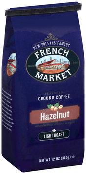 French Market® Light Roast Hazelnut Flavored Ground Coffee 12 oz. Bag