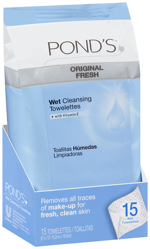 Pond's® Original Fresh Wet Cleansing Towelettes with Vitamin E