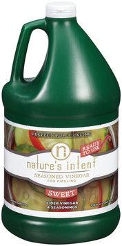 Nature's Intent® Sweet Seasoned Vinegar for Pickling 128 fl. oz. Jug