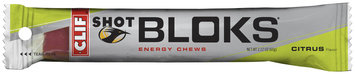 CLIF Shot® Shot Bloks® Citrus Energy Chews 2.1 oz. Pack
