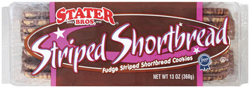 Stater Bros.  Striped Shortbread Cookies 13 Oz Tray