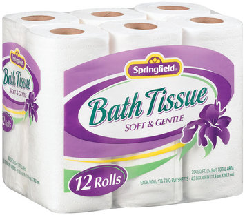 Springfield Soft & Gentle Bath Tissue
