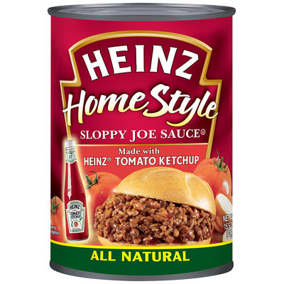 Heinz® Home Style Sloppy Joe Sauce with Heinz Tomato Ketchup