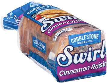 Cobblestone™ Swirl Cinnamon Raisin Bread 16 oz. Bag