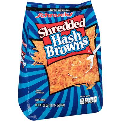 Schnucks® Shredded Hash Browns 30 oz. Bag