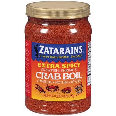Zatarain's® Extra Spicy Crawfish, Shrimp & Crab Boil 63 oz. Jar