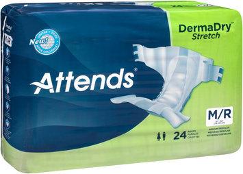 DDSMR Attends® DermaDry™ Stretch Medium/Regular Briefs, 24 count