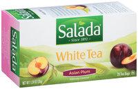 Salada® Asian Plum White Tea Bags 1.24 oz. Box