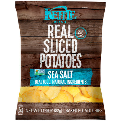 Kettle Brand®  Real Sliced Sea Salt Potato Chips