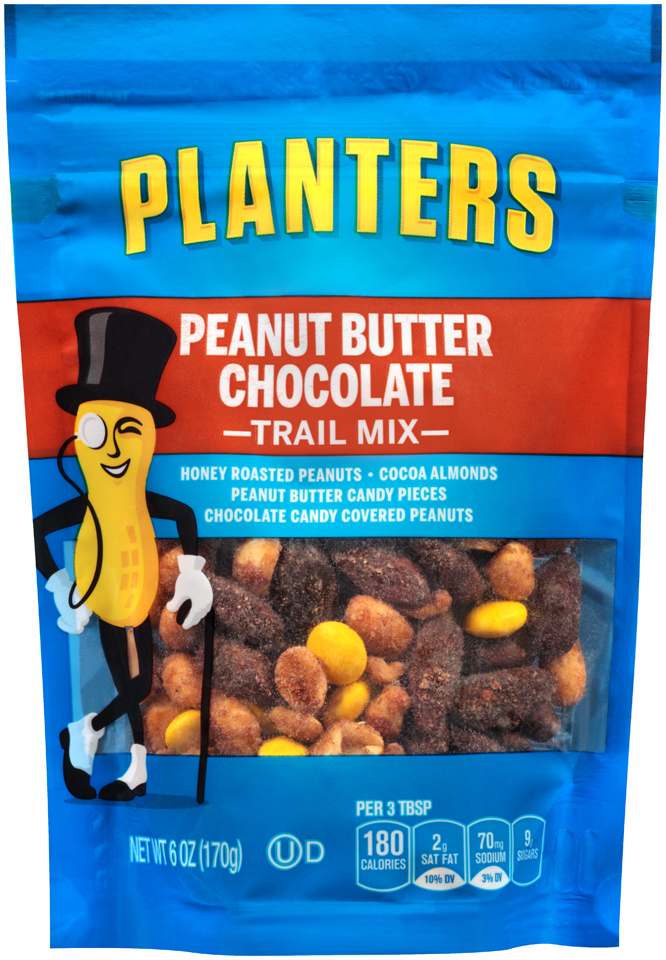 Planters Peanut Butter Chocolate Trail Mix 6 oz. Bag