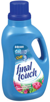 Final Touch Spring Fresh W/Price Point 32 Loads Fabric Softener Liquid 64 Oz Plastic Jug