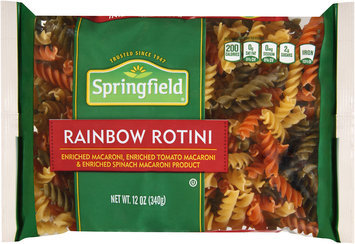 Springfield® Rainbow Rotini 12 oz. Bag