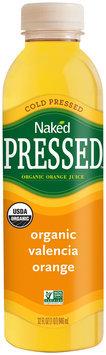 Naked Pressed™ Organic Valencia Orange Juice 32 fl oz. Bottle